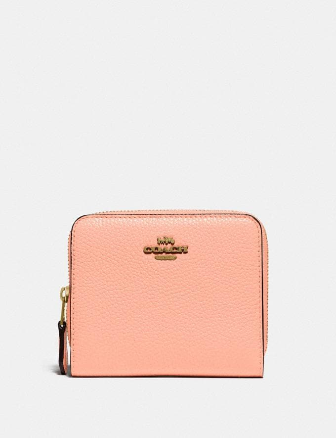 Coach Billfold Wallet in Colorblock B4/Faded Blush Multi New Women's New Arrivals Small Leather Goods