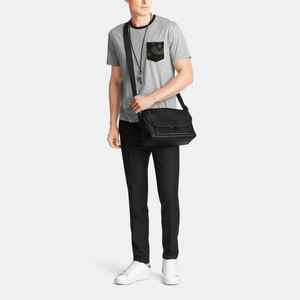 Manhattan Messenger in Pebble Leather - Autres affichages M1