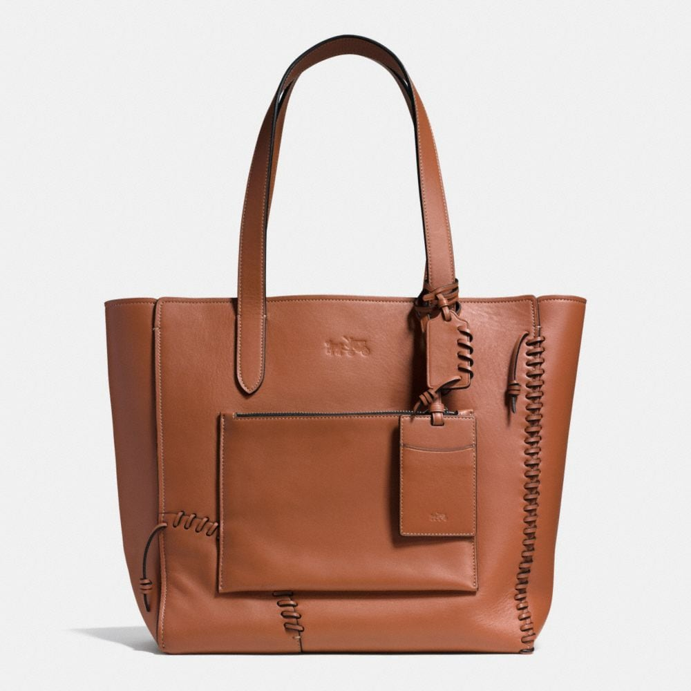 Rip and Repair Manhattan Tote in Leather