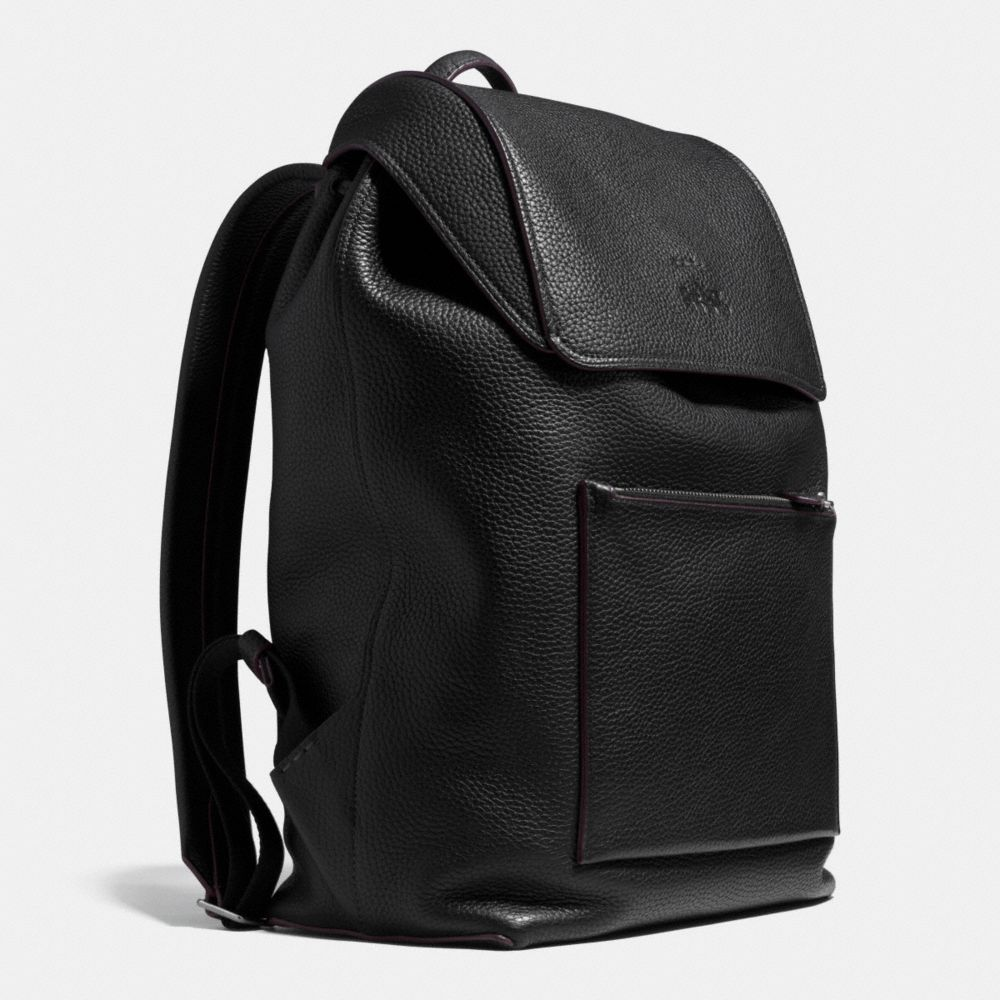 Manhattan Backpack in Pebble Leather - Autres affichages A2
