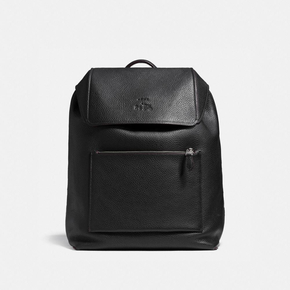 Manhattan Backpack in Pebble Leather