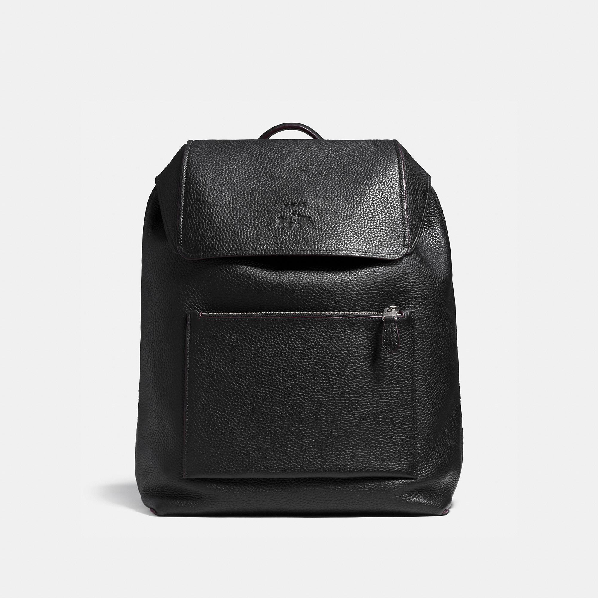 Coach Manhattan Backpack In Pebble Leather