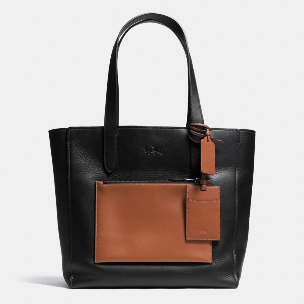 Manhattan Tote in Leather