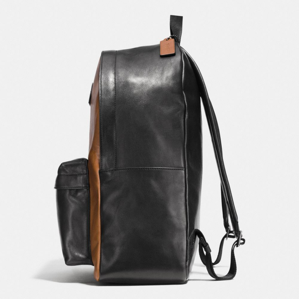 CAMPUS BACKPACK IN SPORT CALF LEATHER - Alternate View A1
