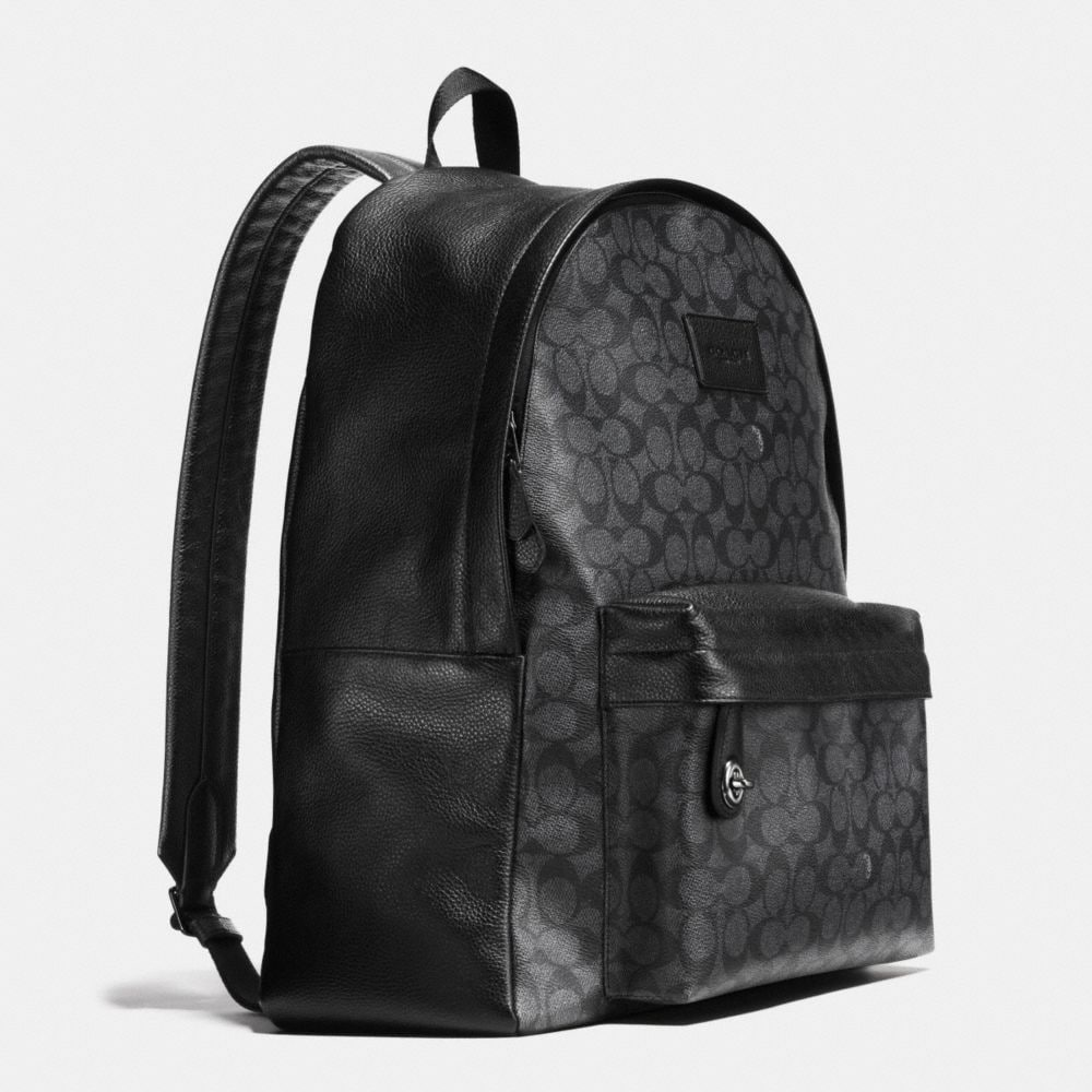CAMPUS BACKPACK IN SIGNATURE COATED CANVAS - Autres affichages A2