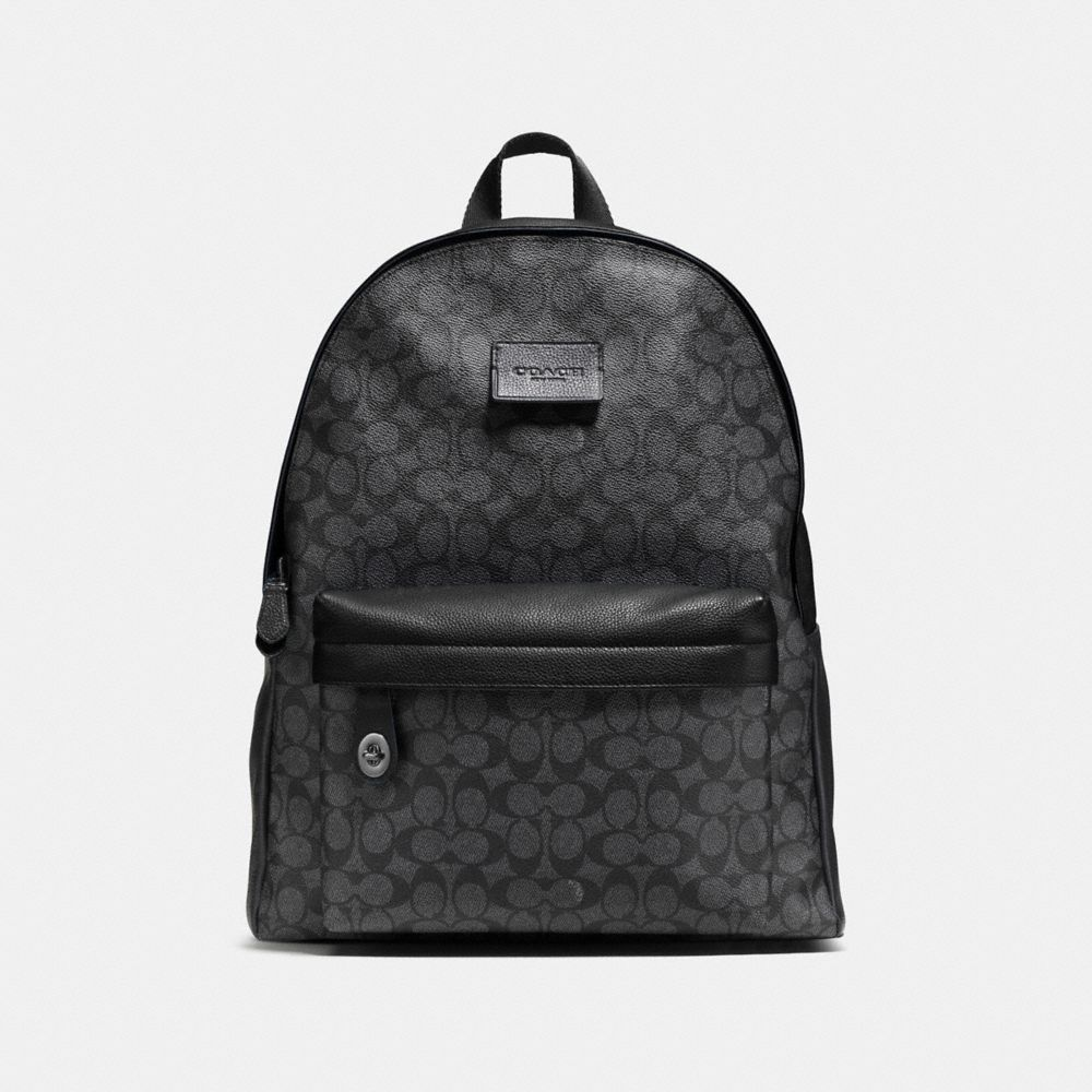 CAMPUS BACKPACK IN SIGNATURE COATED CANVAS