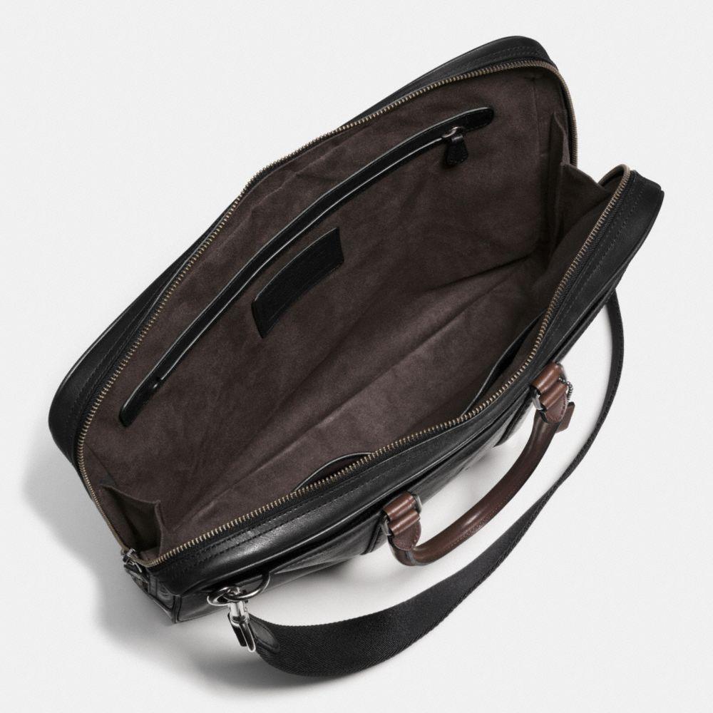 Metropolitan Slim Brief in Sport Calf Leather - Alternate View A3
