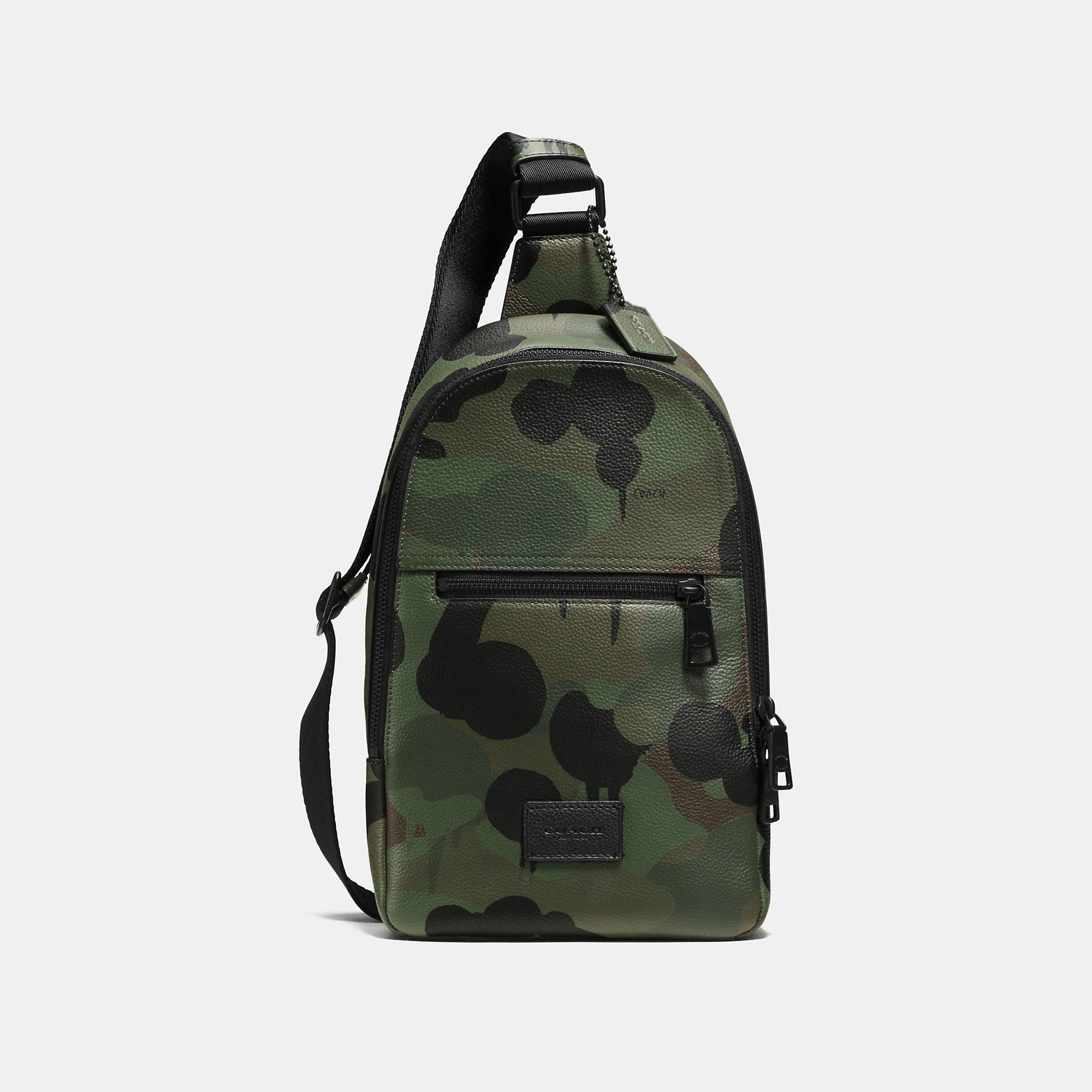Coach Campus Pack In Printed Pebble Leather