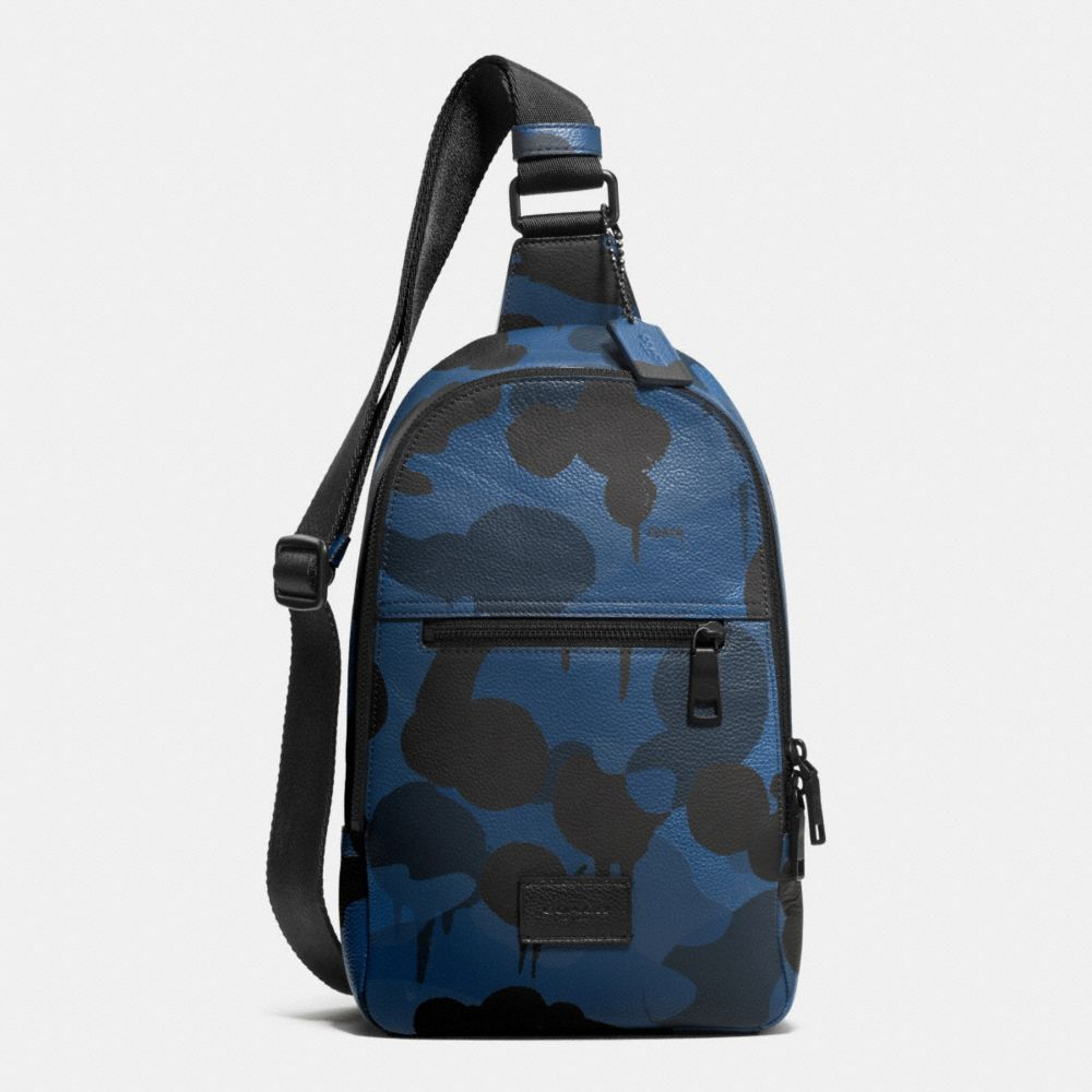 Campus Pack in Printed Pebble Leather