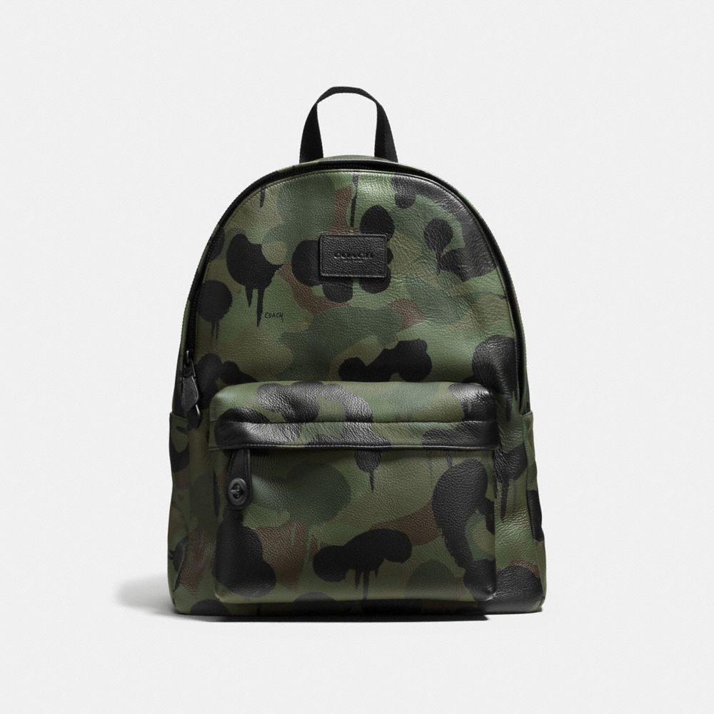 Coach Campus Backpack in Printed Pebble Leather