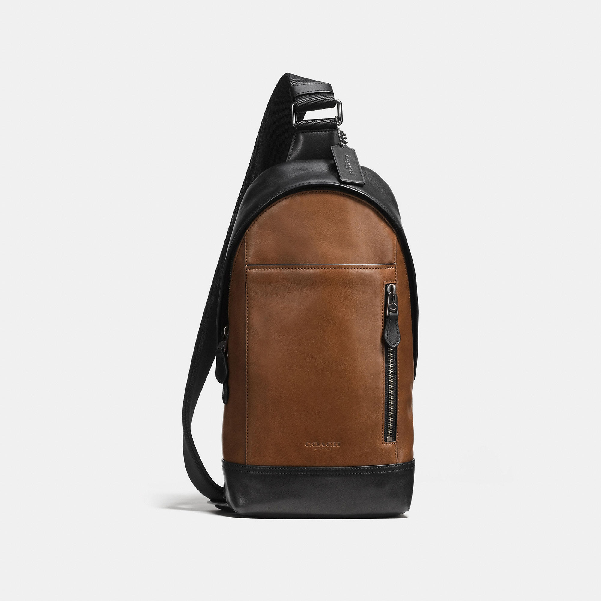 Coach Manhattan Sling Pack In Sport Calf Leather
