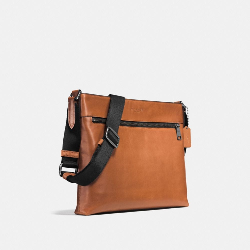 SAM CROSSBODY IN SPORT CALF LEATHER - Autres affichages A2