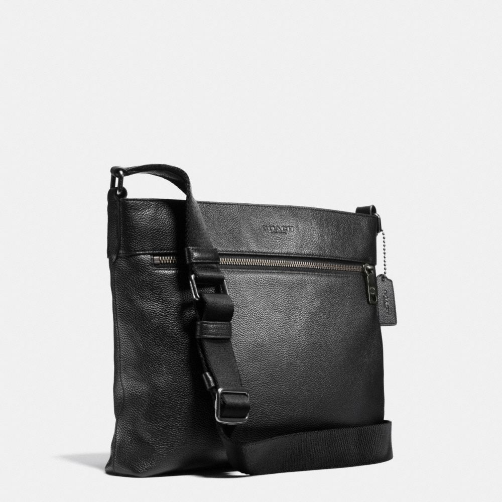 Sam Crossbody in Pebble Leather - Alternate View A2