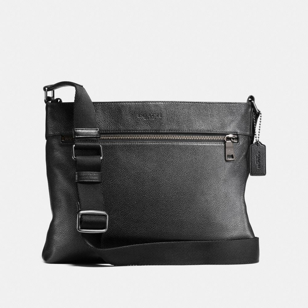 SAM CROSSBODY IN PEBBLE LEATHER