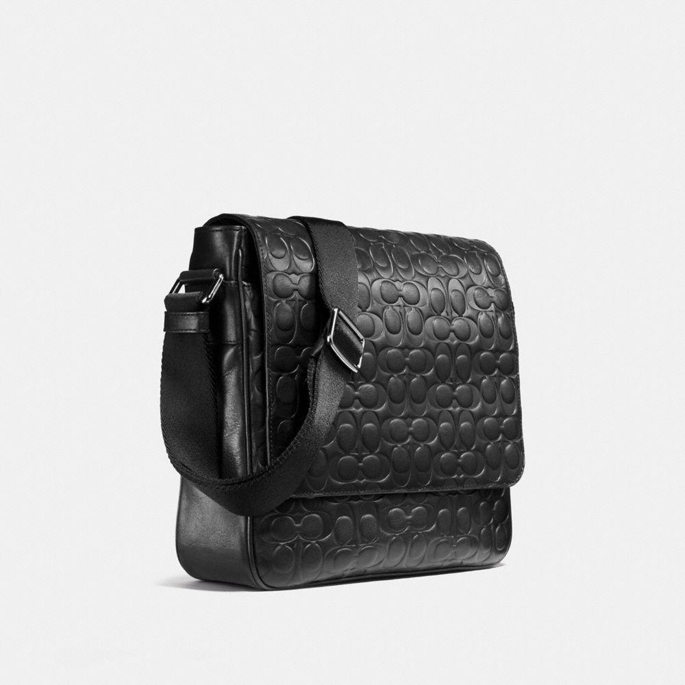 Coach Metropolitan Map Bag in Signature Leather Alternate View 2