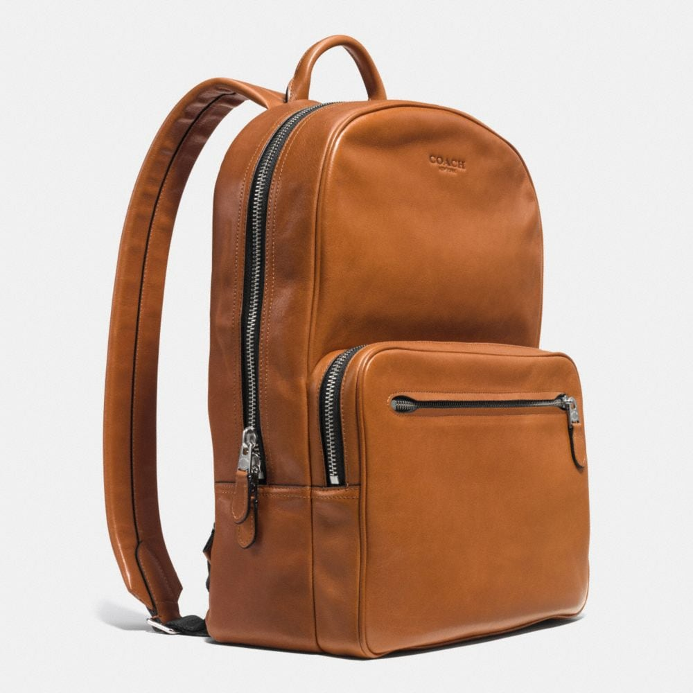 Coach Hudson Backpack in Sport Calf Leather Alternate View 2