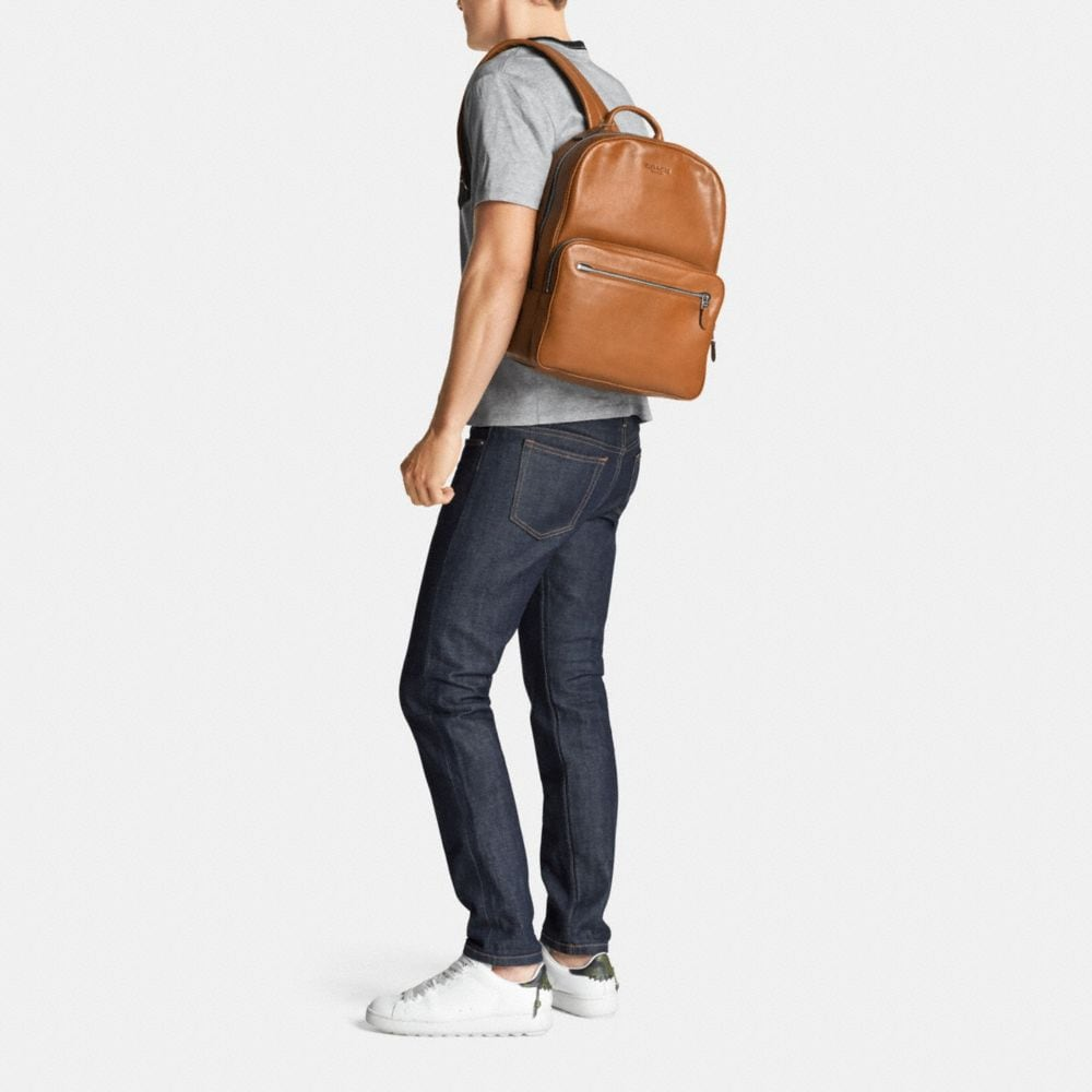 Coach Hudson Backpack in Sport Calf Leather Alternate View 4