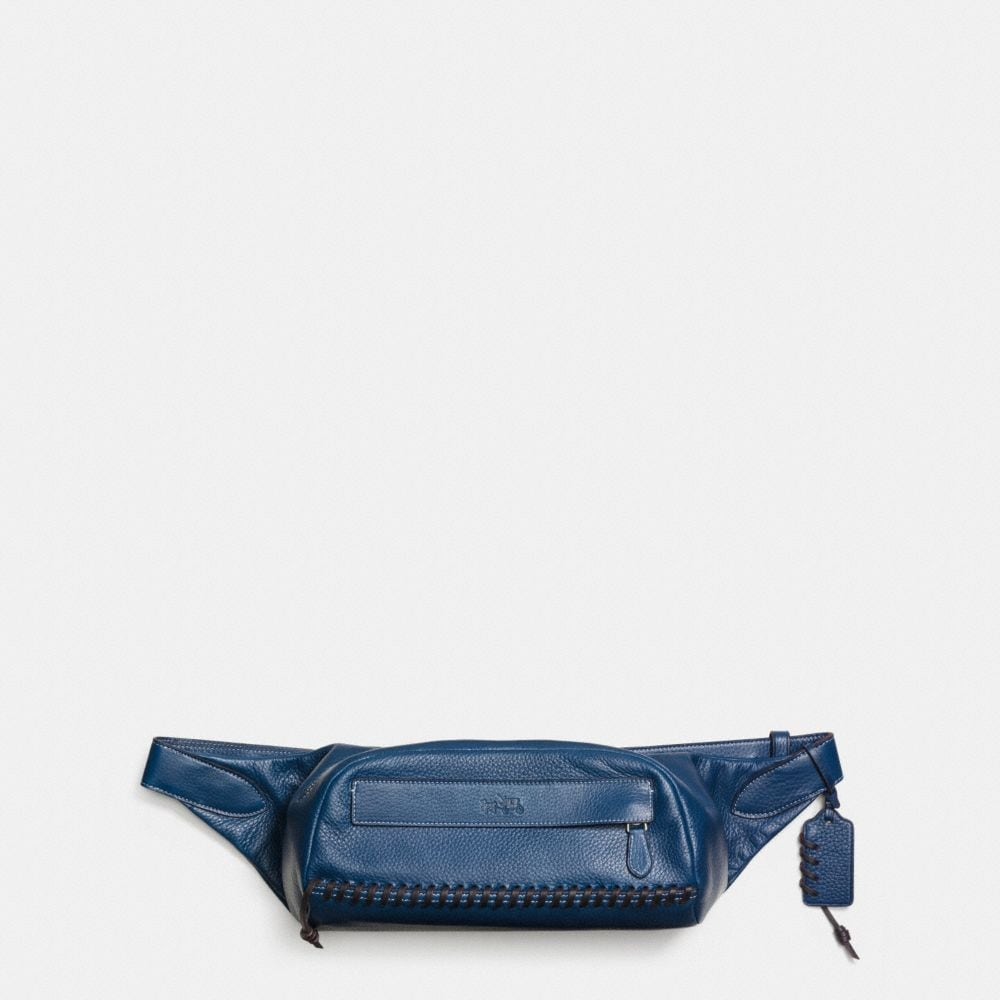 Rip and Repair Small Hip Bag in Pebble Leather