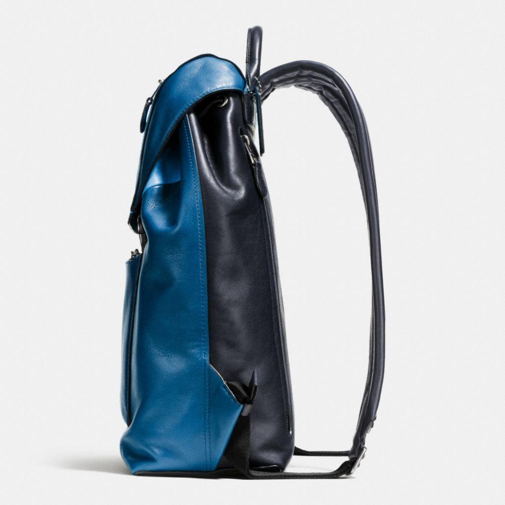 Manhattan Backpack in Sport Calf Leather - Alternate View A1