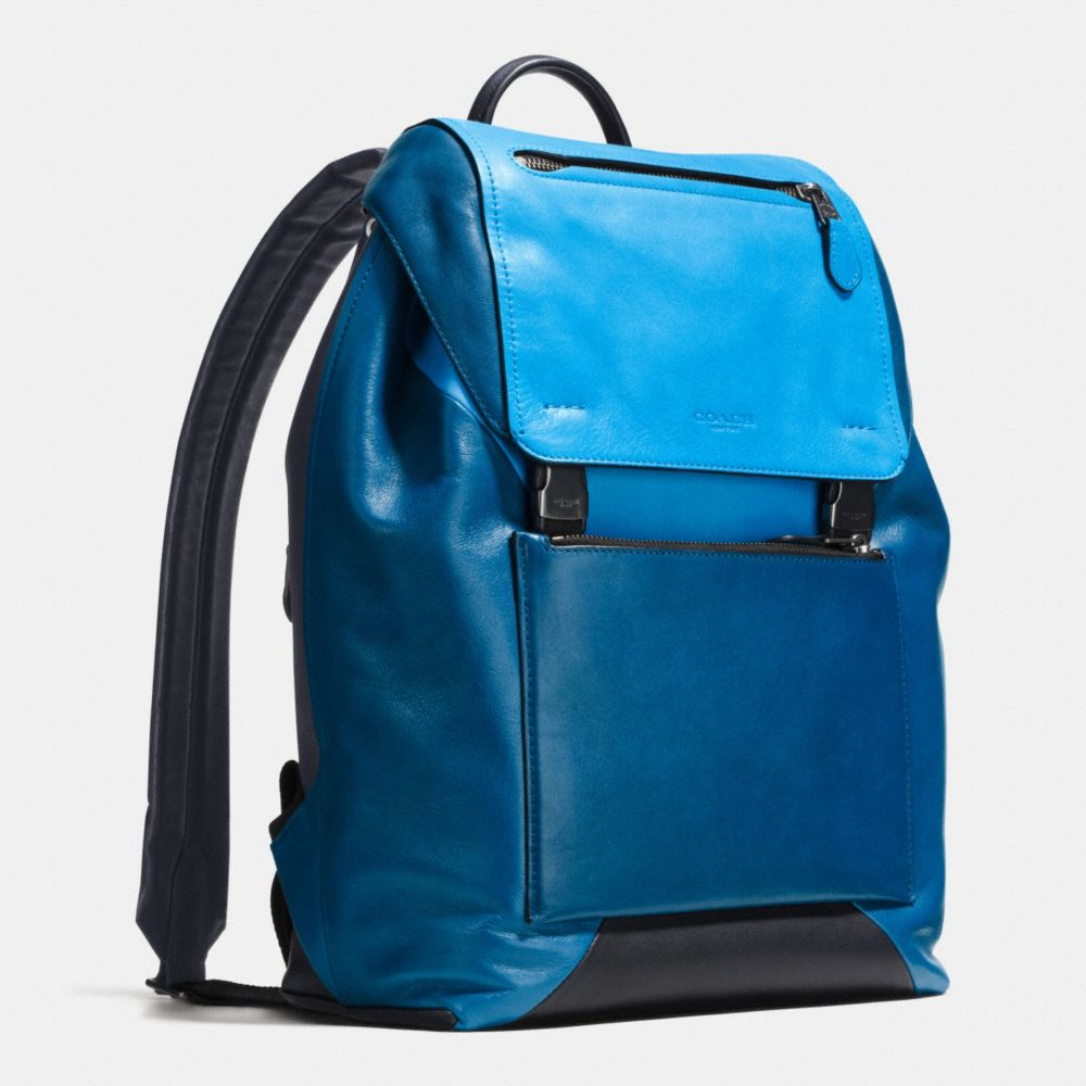 Manhattan Backpack in Sport Calf Leather - Autres affichages A2
