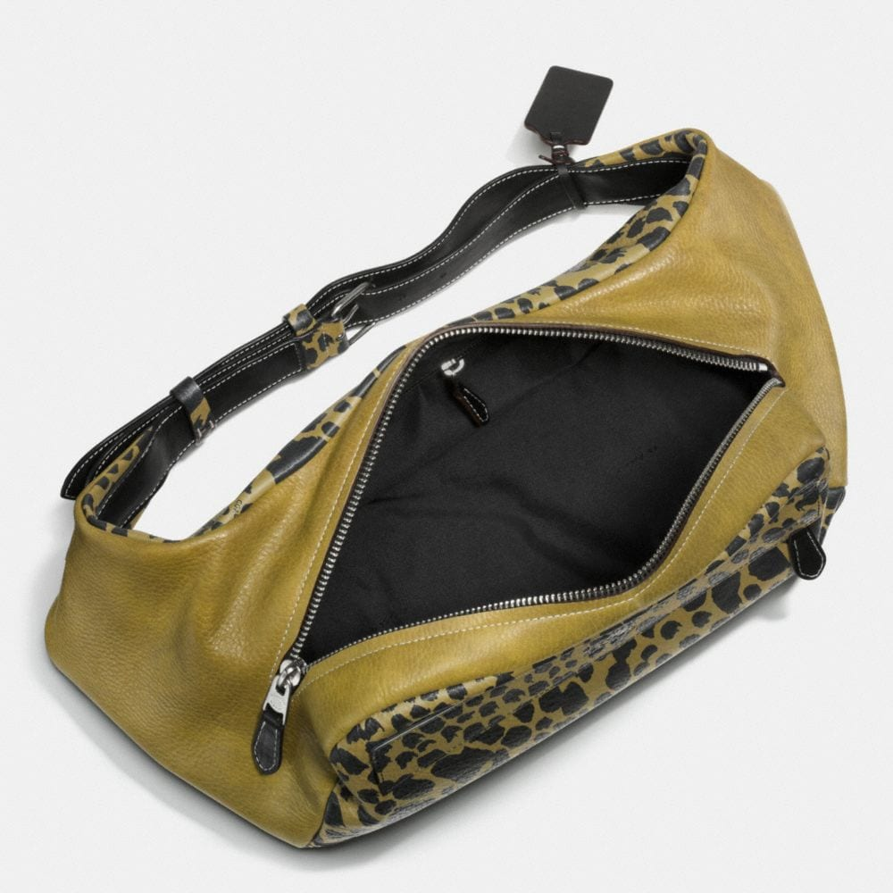 Small Hip Bag in Printed Pebble Leather - Alternate View A1