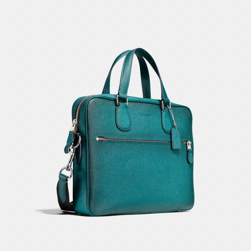 HUDSON 5 BAG IN BURNISHED CROSSGRAIN LEATHER - Alternate View A2