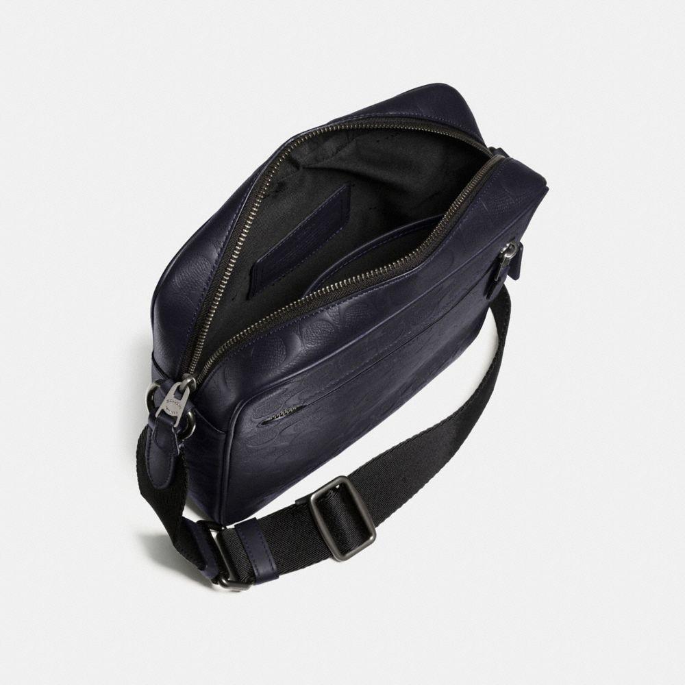 Flight Bag in Signature Crossgrain Leather - Alternate View A2