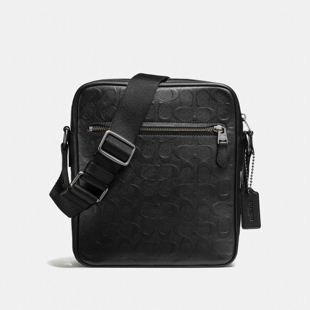 Flight Bag in Signature Crossgrain Leather