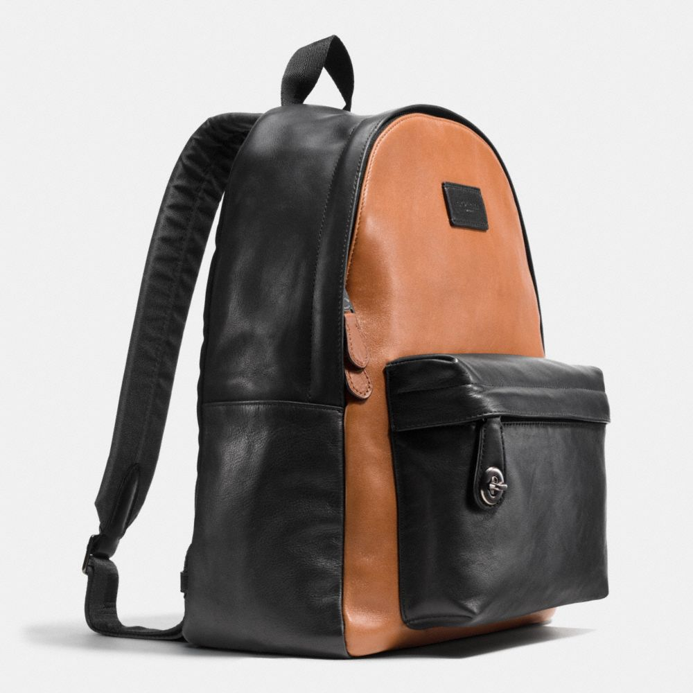 SMALL CAMPUS BACKPACK IN SPORT CALF LEATHER - Alternate View A2