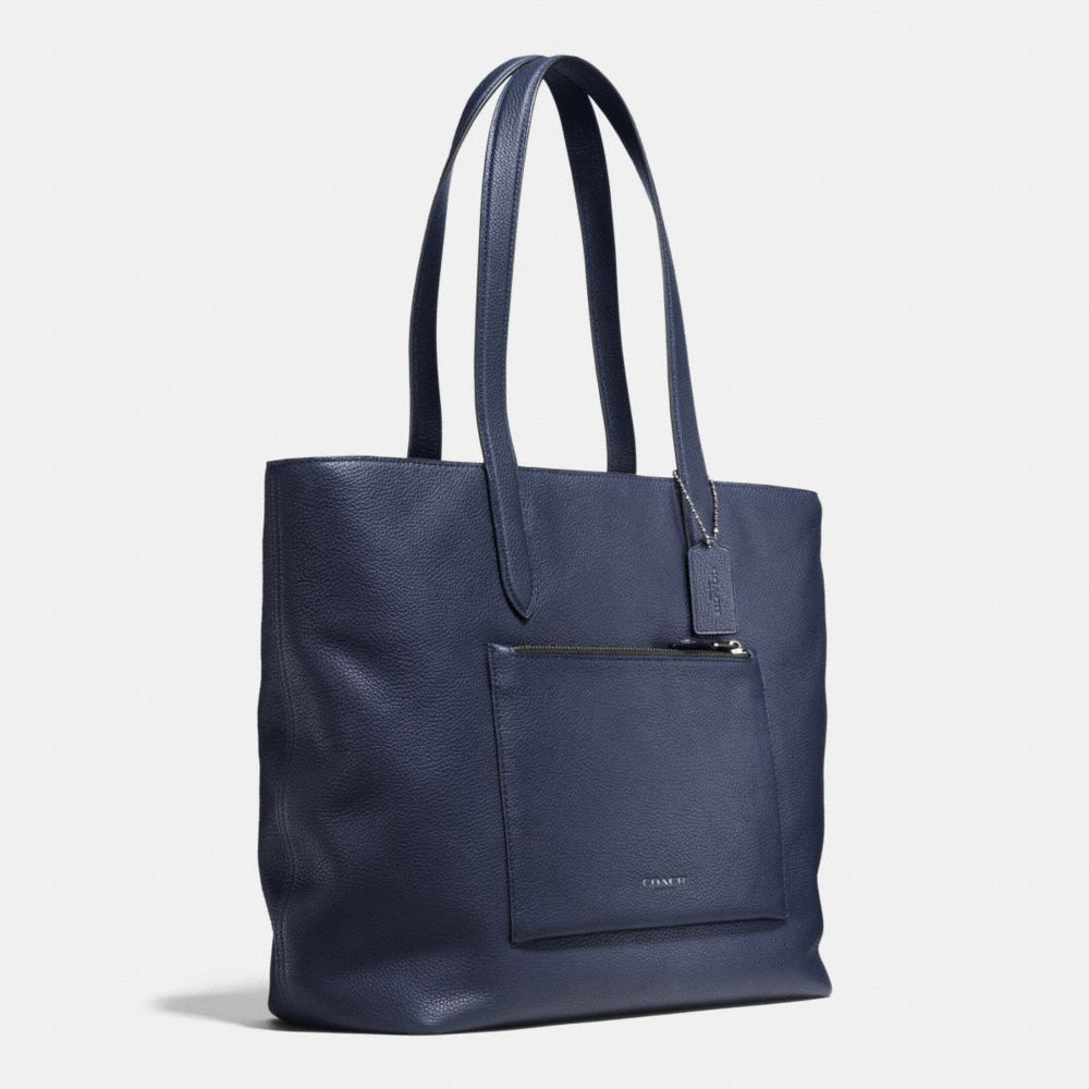 Metropolitan Soft Tote in Pebble Leather - Alternate View A2