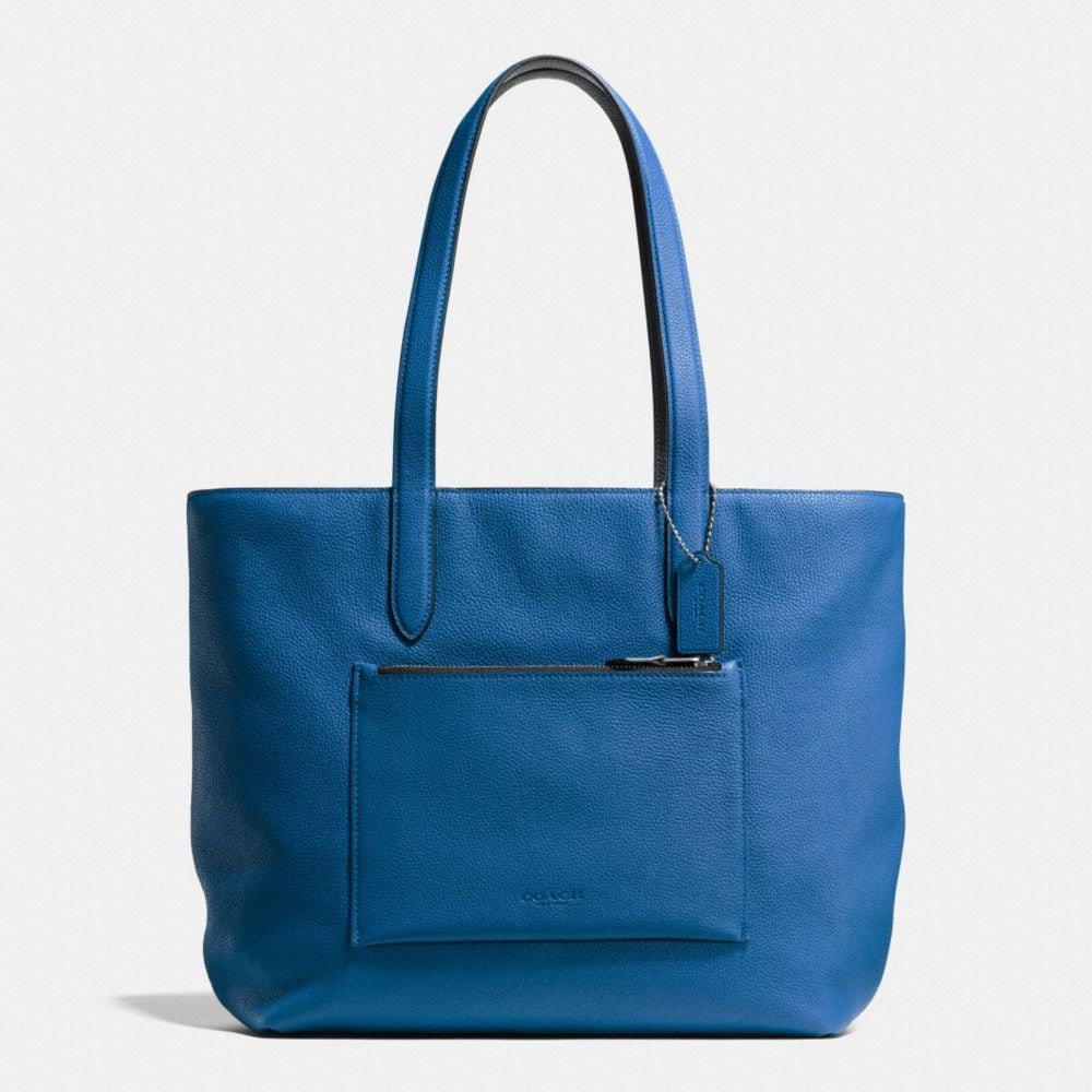 METROPOLITAN SOFT TOTE IN PEBBLE LEATHER