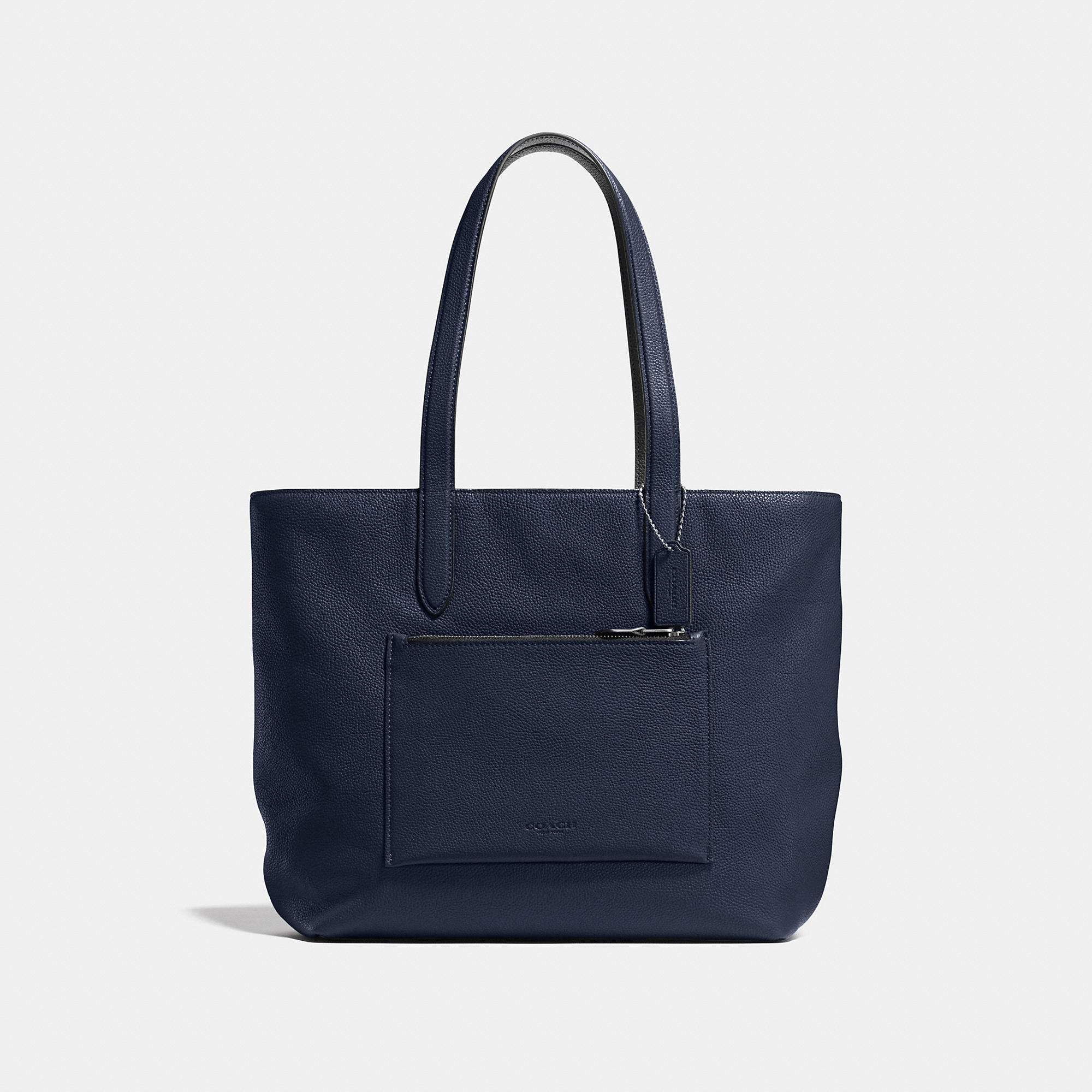Coach Metropolitan Soft Tote In Pebble Leather