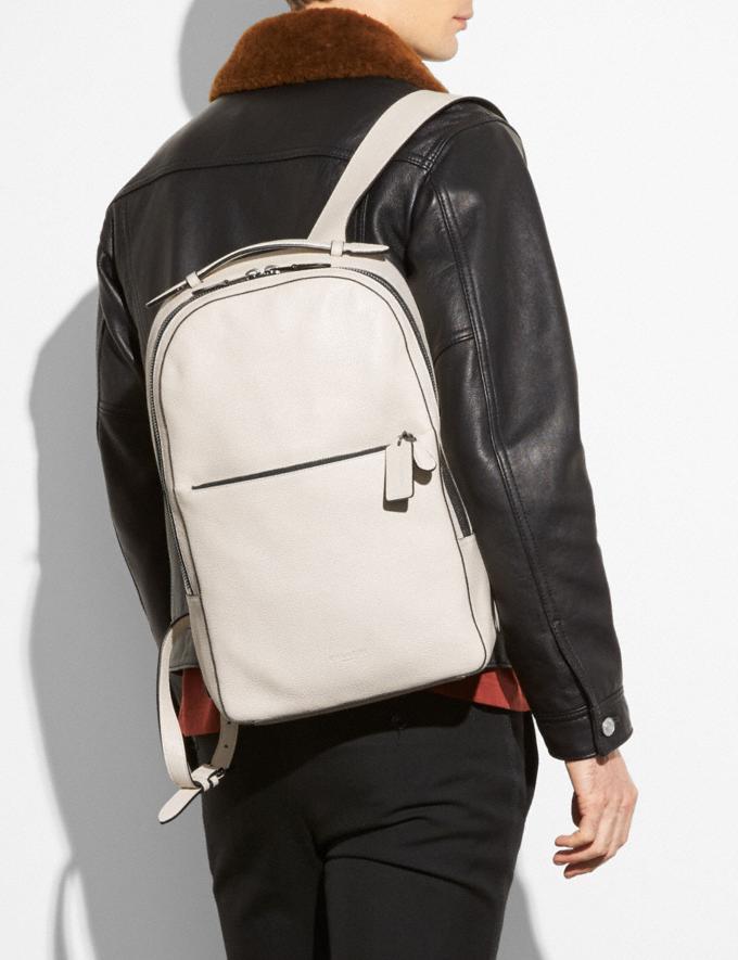 Coach Metropolitan Soft Backpack Black/Black Antique Nickel Women Handbags Diaper Bags Alternate View 3