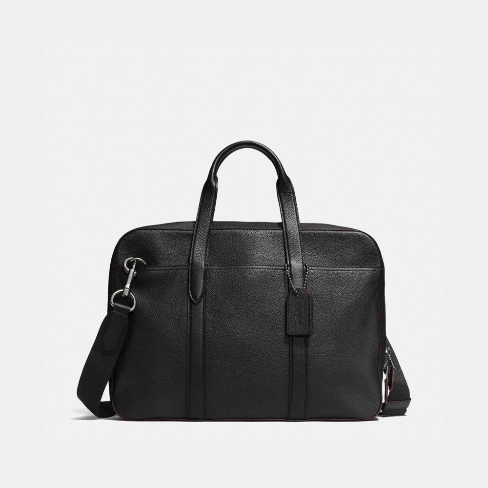 Metropolitan Soft Brief in Refined Pebble Leather