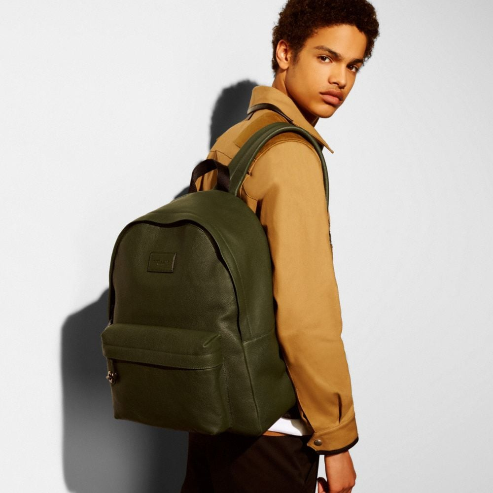 Campus Backpack in Pebble Leather - Autres affichages A4