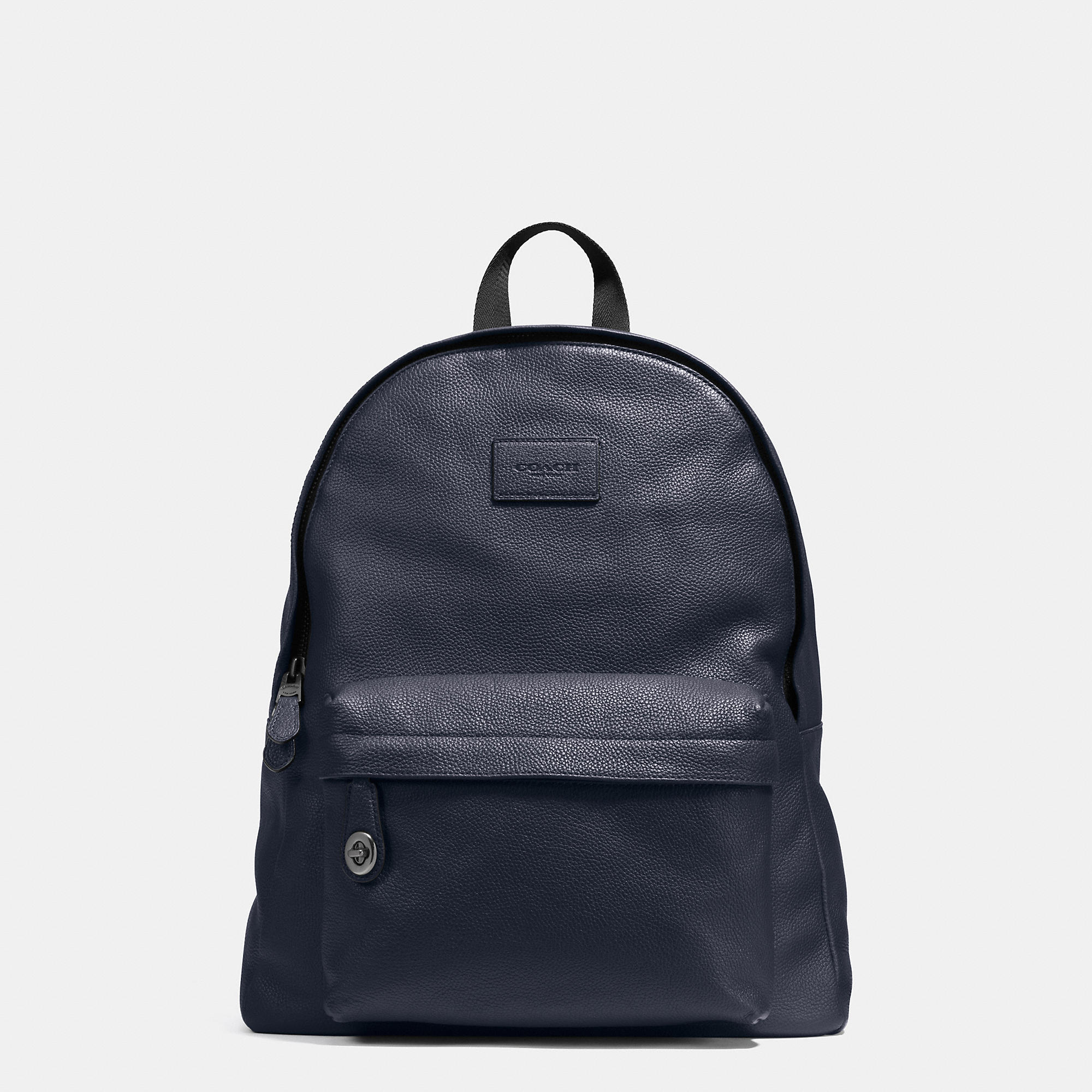 Coach Campus Backpack In Pebble Leather