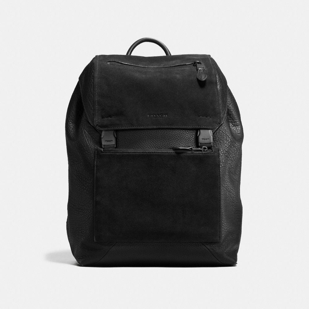 MANHATTAN BACKPACK IN PATCHWORK LEATHER