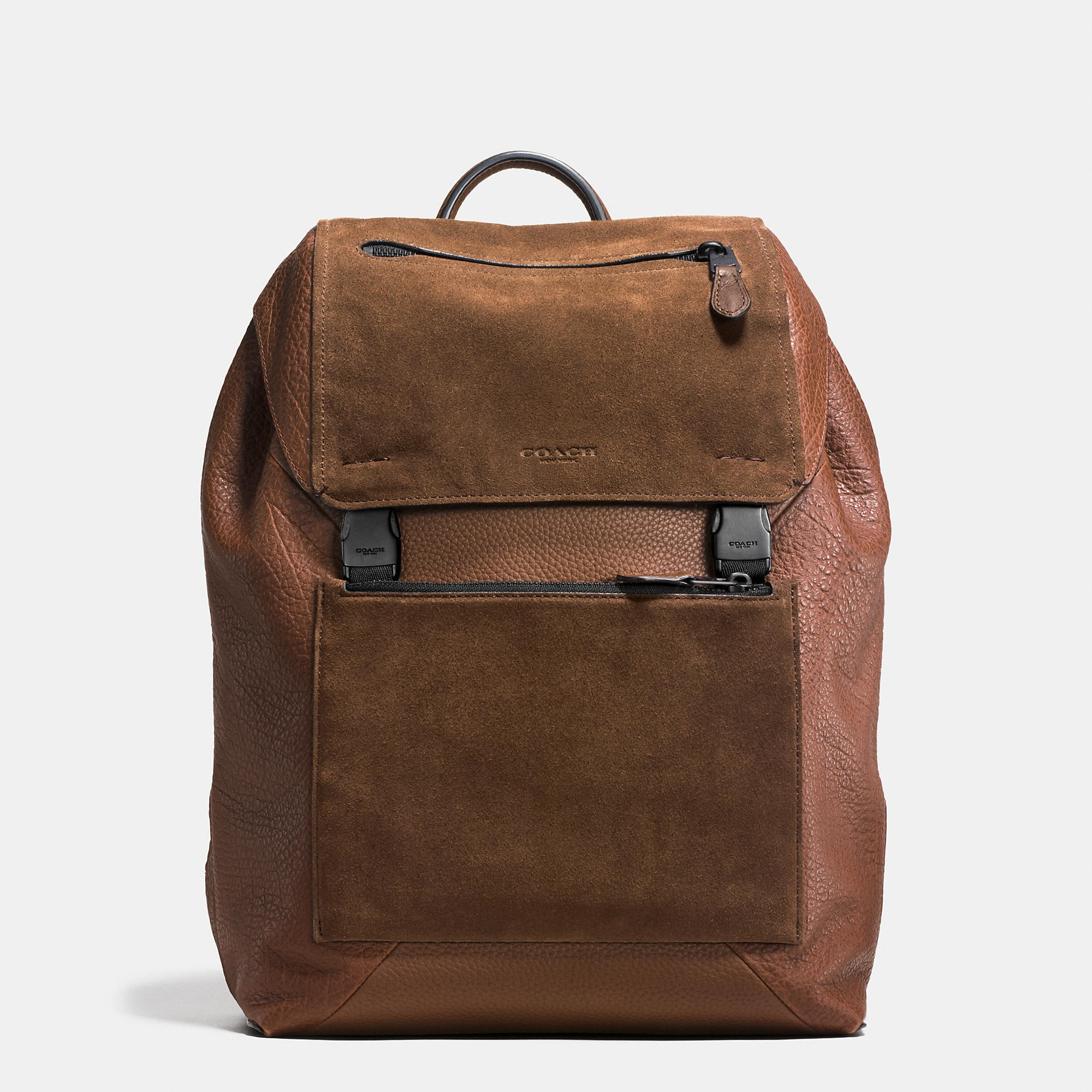 Coach Manhattan Backpack In Patchwork Leather