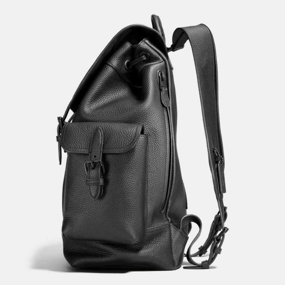 Coach Metropolitan Rucksack in Pebble Leather Alternate View 1