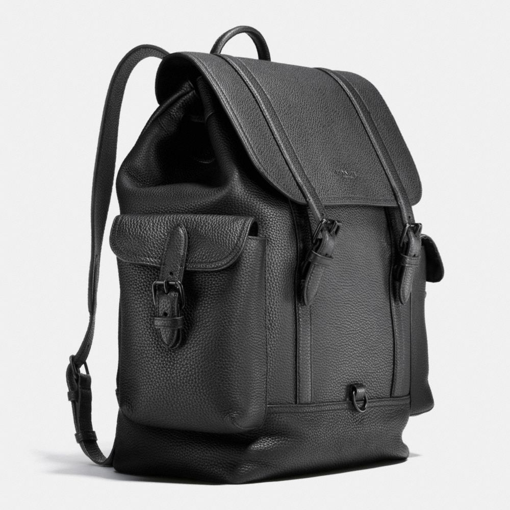 Coach Metropolitan Rucksack in Pebble Leather Alternate View 2