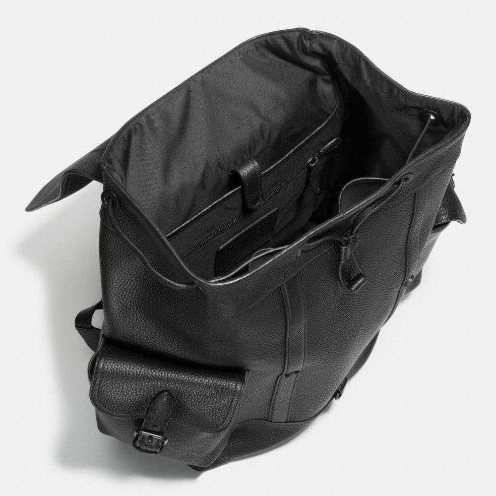 Metropolitan Rucksack in Pebble Leather - Alternate View A3