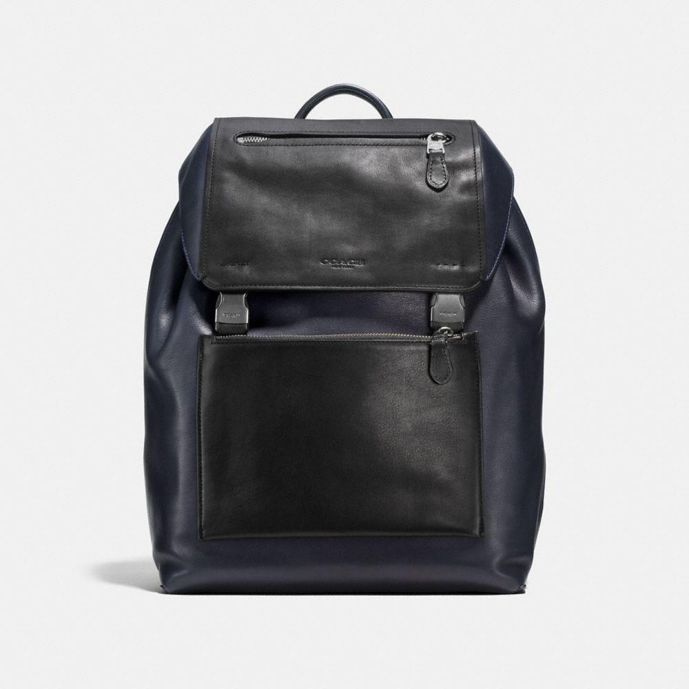 Manhattan Backpack in Sport Calf Leather