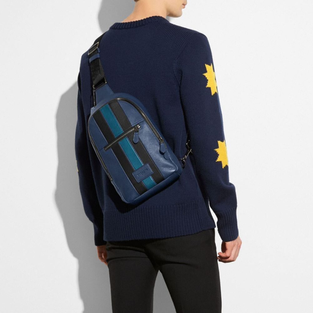 Modern Varsity Campus Pack in Pebble Leather - Autres affichages A2