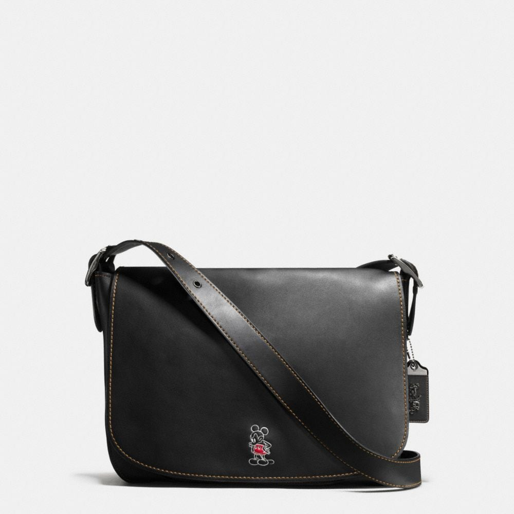 Coach Mickey Saddle Bag in Glovetanned Leather