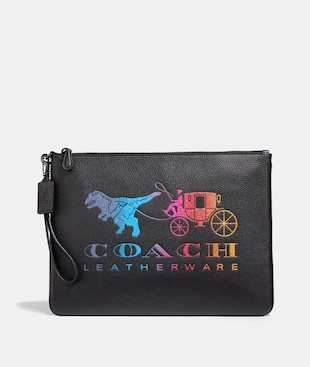 LARGE WRISTLET 30 WITH REXY AND CARRIAGE