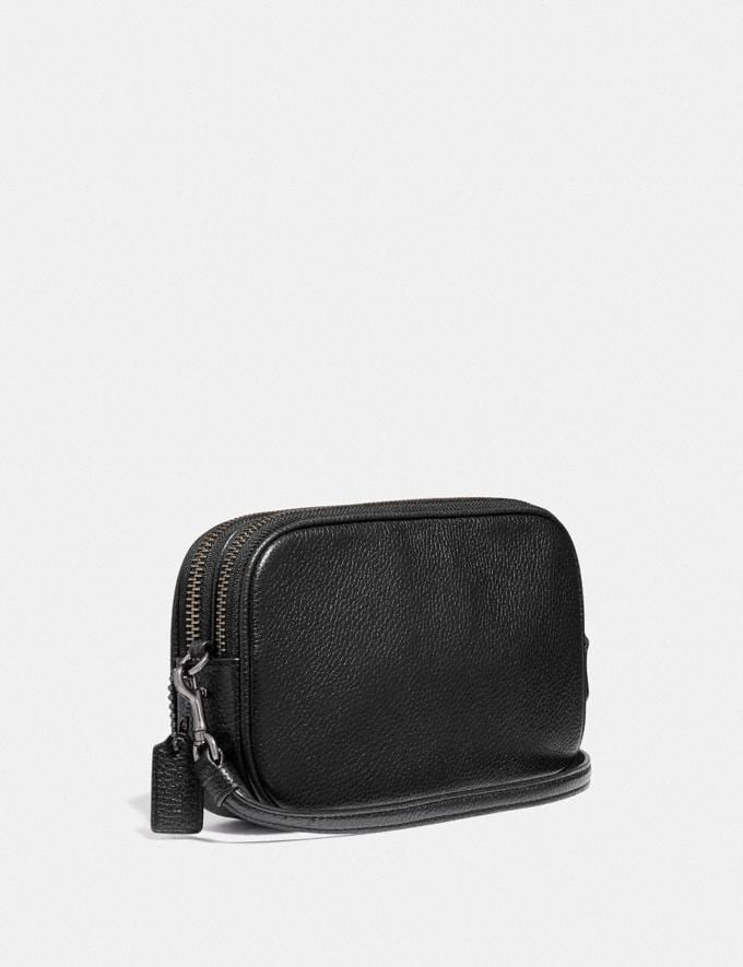 Coach Sadie Crossbody Clutch With Rexy and Carriage Gm/Black Multi DEFAULT_CATEGORY Alternate View 1