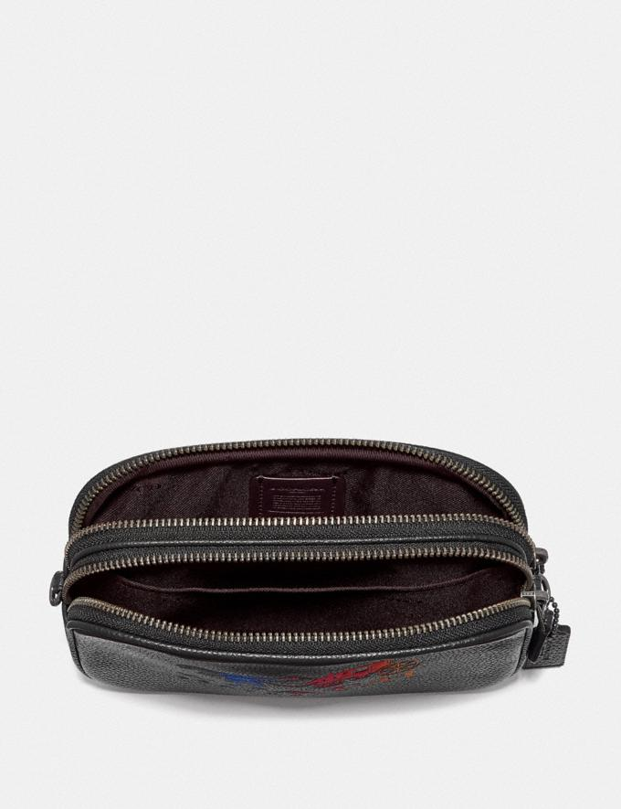 Coach Sadie Crossbody Clutch With Rexy and Carriage Gm/Black Multi DEFAULT_CATEGORY Alternate View 2