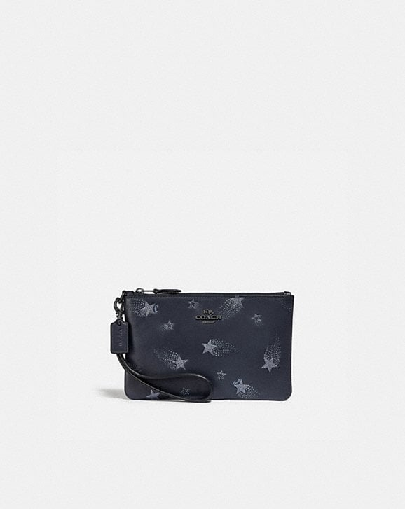Coach SMALL WRISTLET WITH STAR PRINT