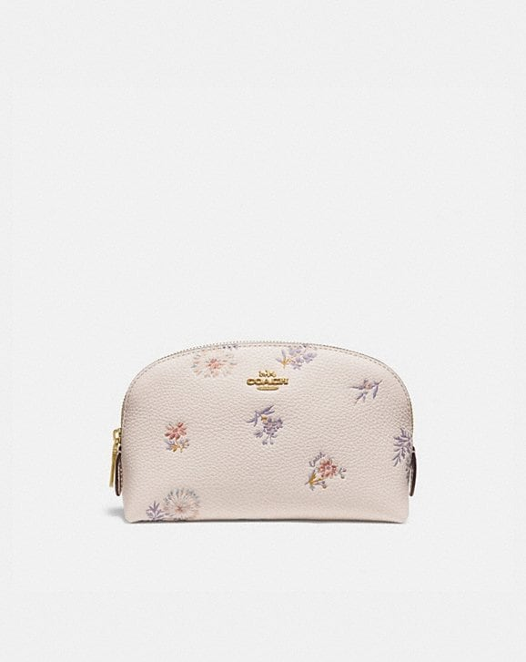 Coach COSMETIC CASE 17 WITH MEADOW PRAIRIE PRINT