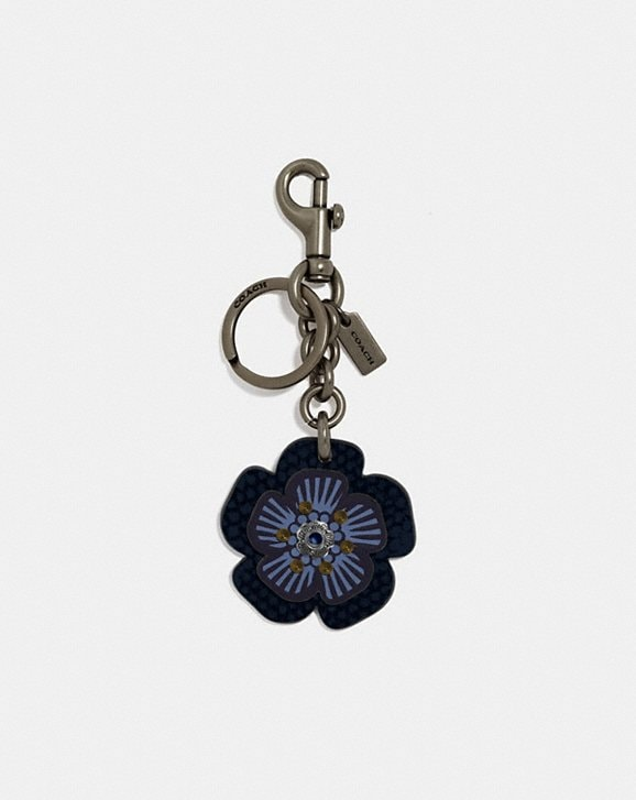 Coach BIKER RIVET TEA ROSE BAG CHARM